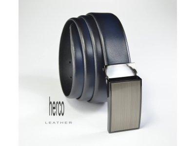 """elegantný opasok herco 3,5 cm """"ambassador"""" Blue"""